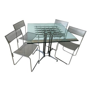 Robert Josten Original Grid Dinning Set - Set of 5