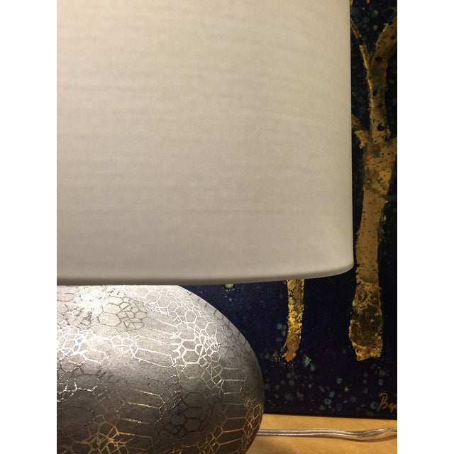 Image of Snakeskin Textured Lamp