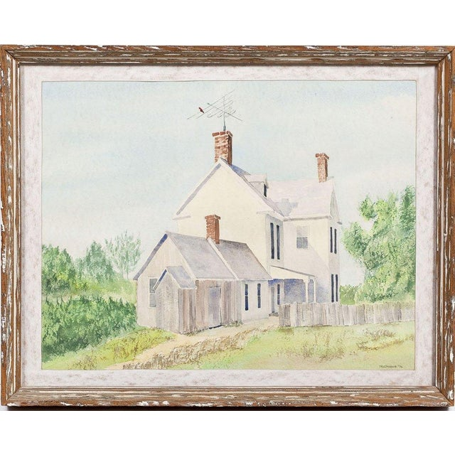 Image of Architectural Watercolor by Paul D. Ottens