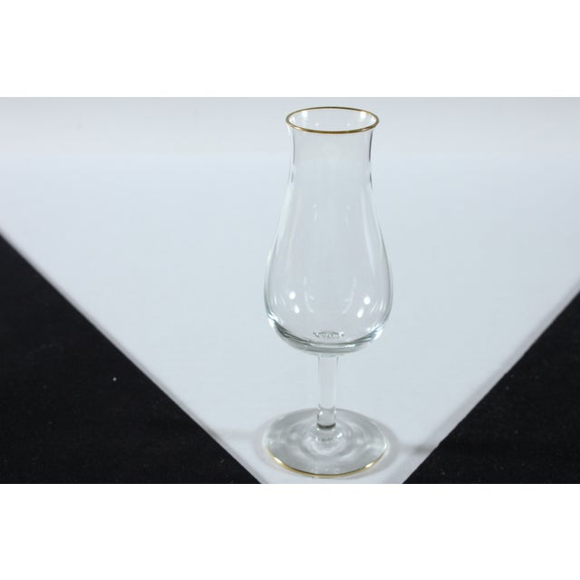 Image of Tulip Style Cognac Glasses - Set of 4