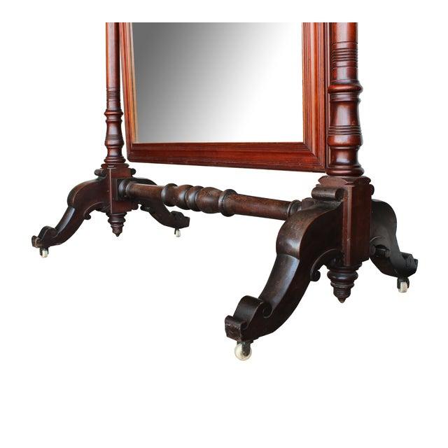 Image of Antique Freestanding Dressing Mirror