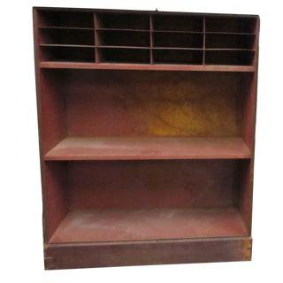 Wood & Metal Cabinet