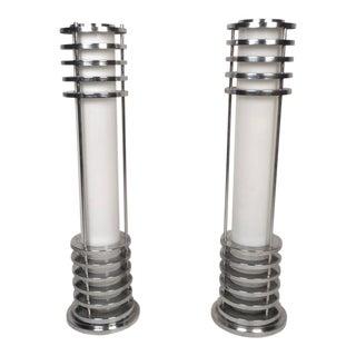 Art Deco Style Floor Lamps - a Pair