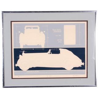 Rolls Royce Phantom Lithograph