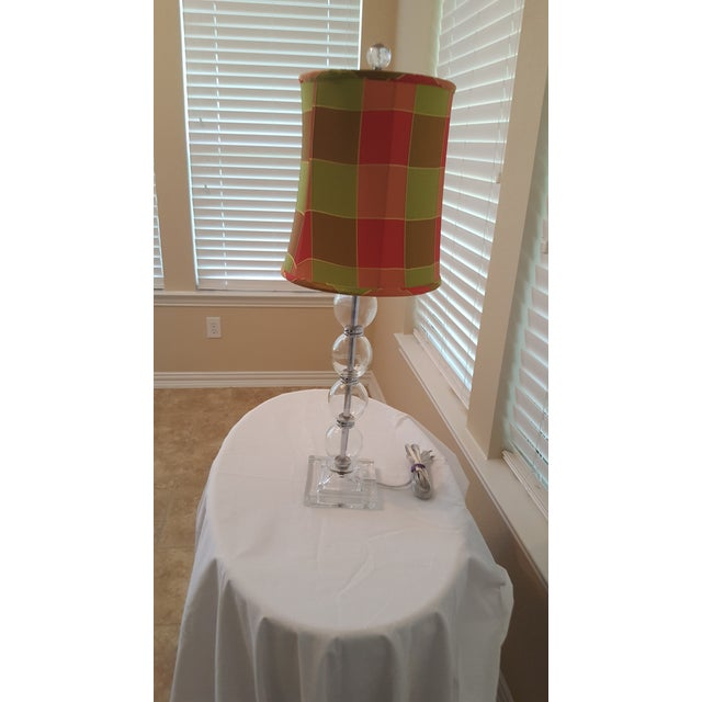 Image of Contemporary Glass Table Lamp