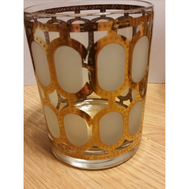 Cera Glass Old Fashioned Tumblers - Set of 4 - Image 4 of 8