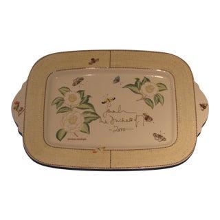 "Wedgwood - Sarah's Garden 18 3/8"" Platter, Signed by Sarah Duchess of York"