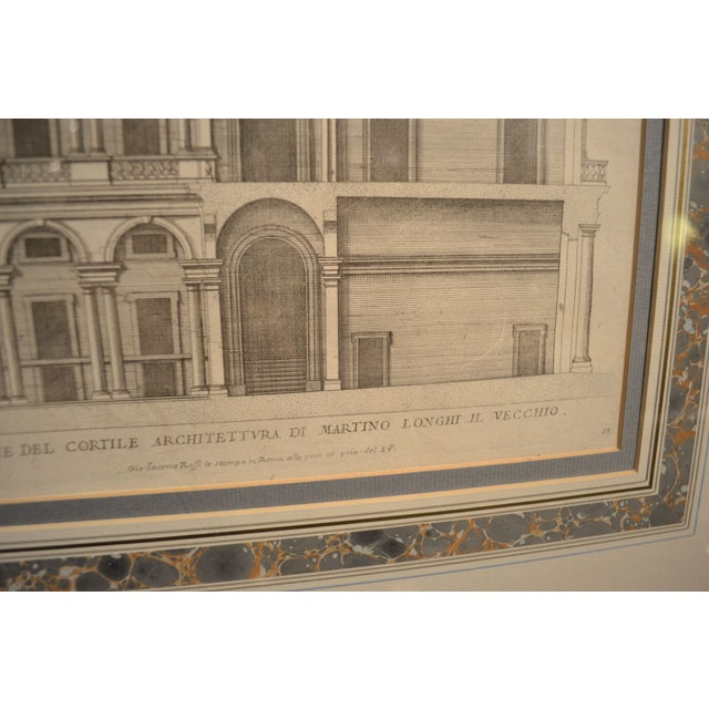 17th Century Engravings - Palazzi Di Roma - A Pair - Image 5 of 8