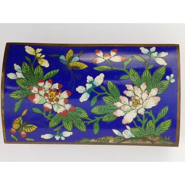 Antique Chinese Cloisonne Box - Image 7 of 11