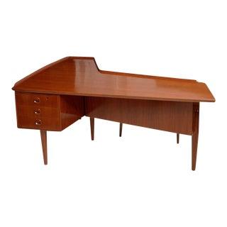 Italian Modern Desk Attributed to Claudio Salocchi for Sormani