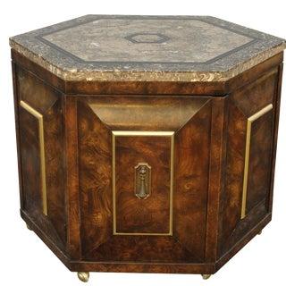 Mastercraft Octagonal Side Cabinet