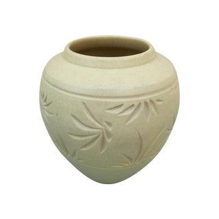 Raku Studio Pottery Vase