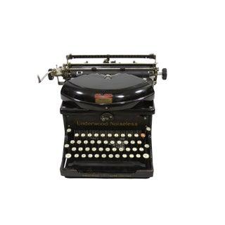 Underwood Noiseless Typewriter No. 6