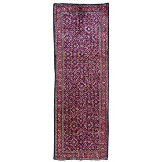 "Apadana Vintage Hand Knotted Persian Rug - 3'8"" X 10'5"""