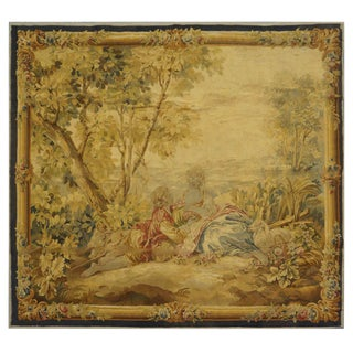 Antique Handmade Wool Tapestry