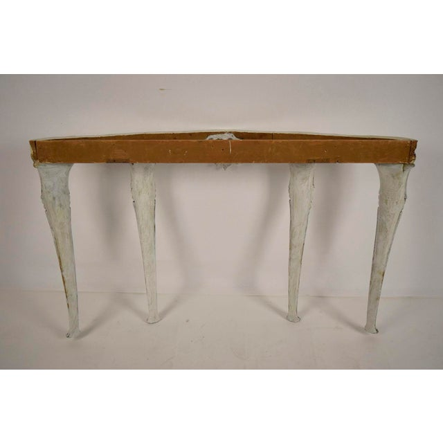 Louis XV-Style Italian Marble Top Wall Console - Image 8 of 8