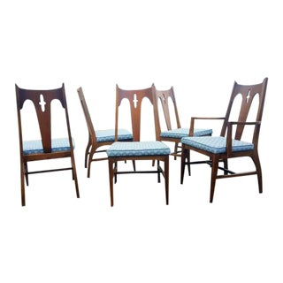 Mid-Century Modern Dining Chairs - Set of 5