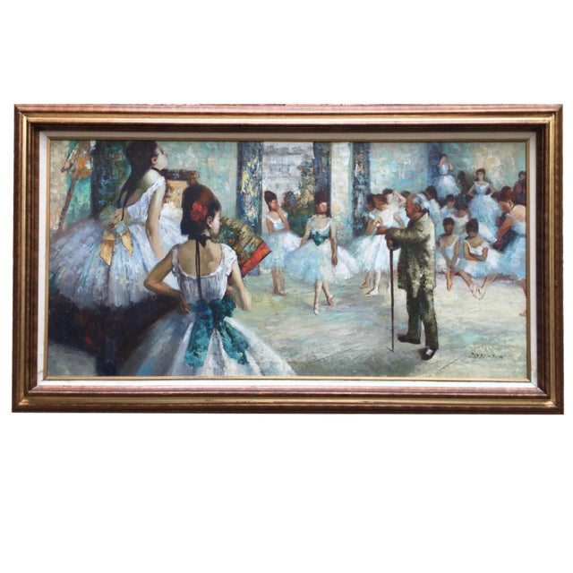 """Edgar Degas """"The Dance Class"""" Reproduction - Image 1 of 11"""