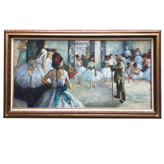 "Edgar Degas ""The Dance Class"" Reproduction"