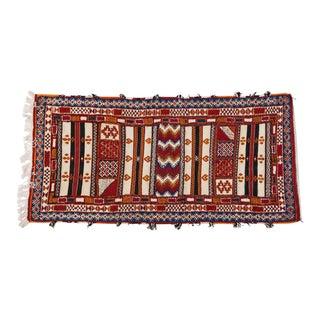 Hand Woven Moroccan Berber Rug - 3′ × 6′4″