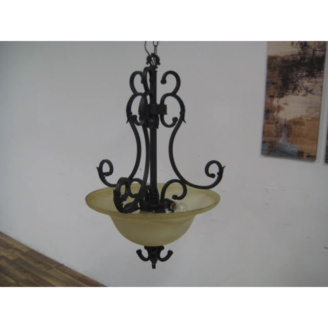 Oil Rubbed Bronze Dome Chandelier - Image 8 of 8