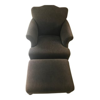 Room & Board Club Chair & Ottoman