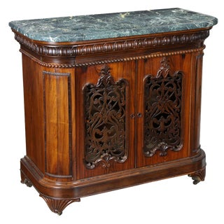 Rosewood Roccoco Revival Commode