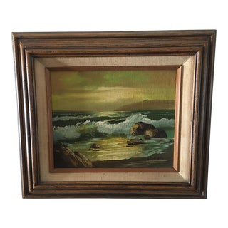 """Seascape"" Oil Painting on Canvas"