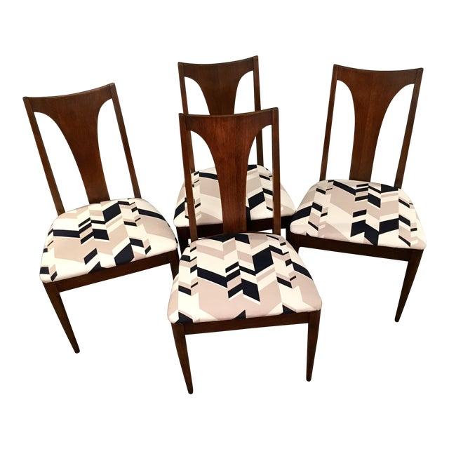 Broyhill Mid-Century Dining Chairs - Set of 4 - Image 1 of 9