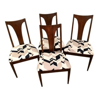 Broyhill Mid-Century Dining Chairs - Set of 4