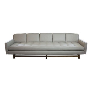 Extra-Long Tuxedo Sofa in the Style of Dunbar