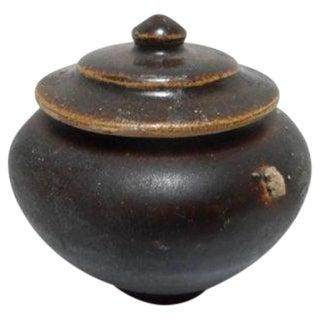 Sukohothai Thai Pottery Lidded Spice Jar