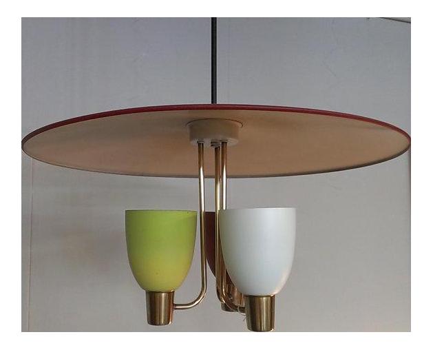 Vintage 60s Atomic Italian Style Pendant Light  sc 1 st  Chairish & Vintage u0026 Used Miami Lighting | Chairish azcodes.com