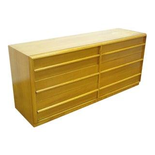 T.H. Robsjohn-Gibbings Fruitwood Double Dresser