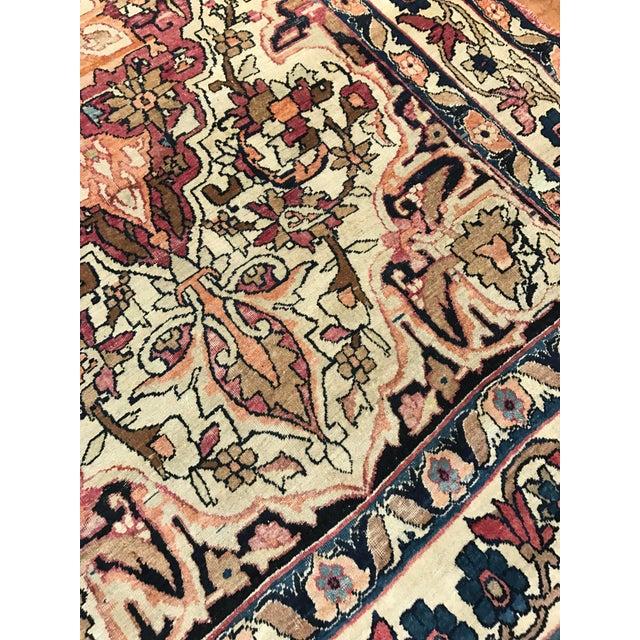Antique Persian Kirman Lavar Rug - Image 2 of 3
