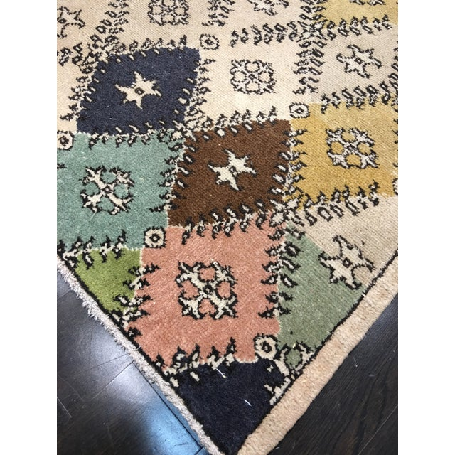 Vintage Turkish Zeki Muren Designed Rug - 4'10 X 7' - Image 8 of 8