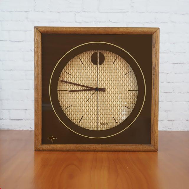 1970s Elgin Wall Clock - Image 2 of 8