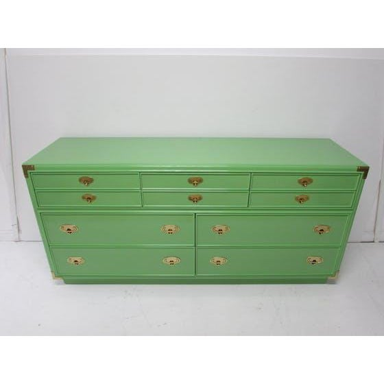 Lexington Campaign Chest of Drawers - Image 2 of 8