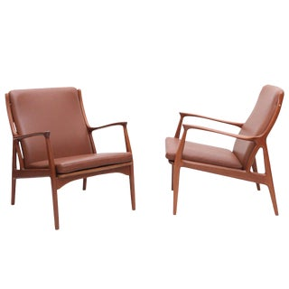 Pair of S. A. Andersen Lounge Chairs