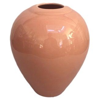 Peach Ceramic Vase