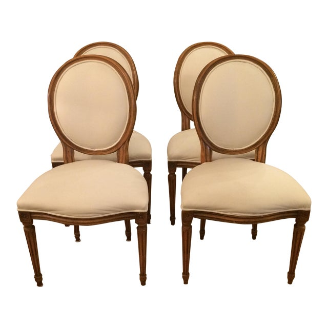 French Style Dining Chairs By Baker - Set Of 4