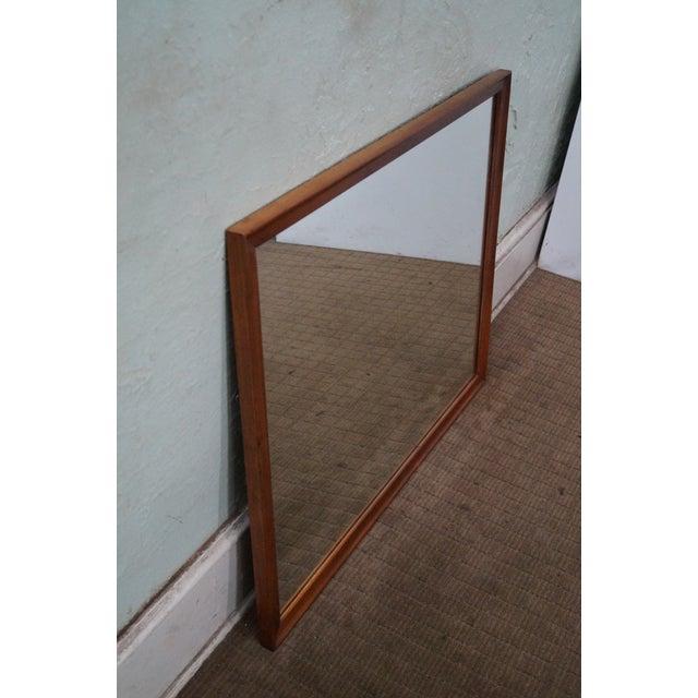 Image of Drexel Declaration Kipp Stewart Walnut Mirror