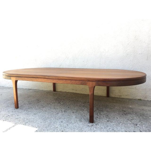 Mid-Century Walnut Coffee Table - Image 7 of 11