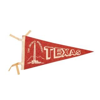 Texas, San Jacinto Monument Felt Flag