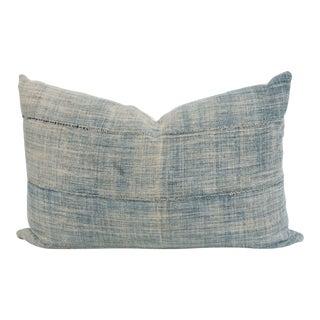 Vintage African Mudcloth Indigo Pillow
