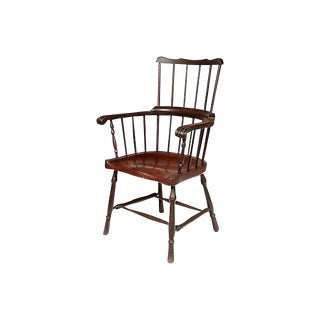 Early 1900s High Back Windsor Chair