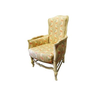 French Country Bergère Chair