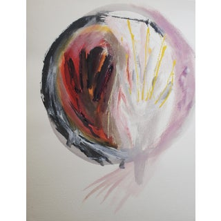 1970s Abstract Painting by Richard Mann