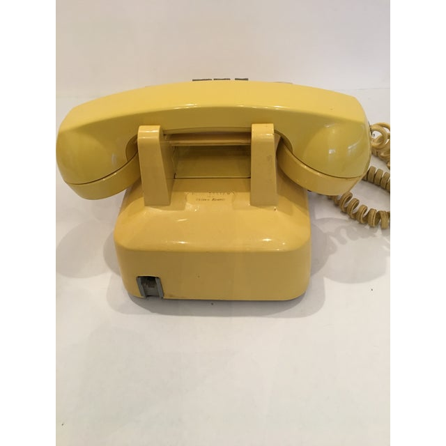 Vintage Bell Western Yellow Desktop Telphone - Image 9 of 9