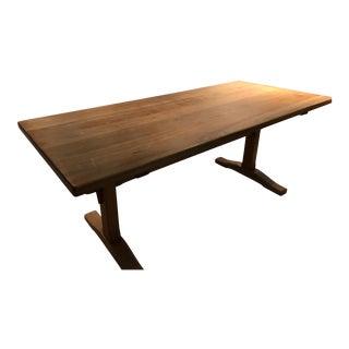 Stickley Cherry Trestle Table